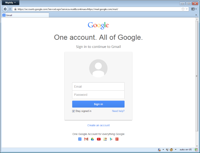 ... double check that the Gmail login page you're looking at has the  correct and genuine URL from either gmail.com, mail.google.com or accounts .google.com.